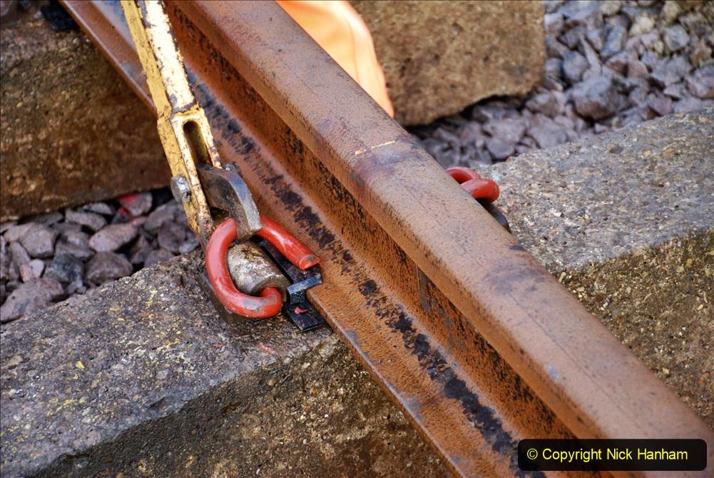 2020-01-08 Track renewal Cowpat Crossing to just beyond Dickers Crossing. (25) 025