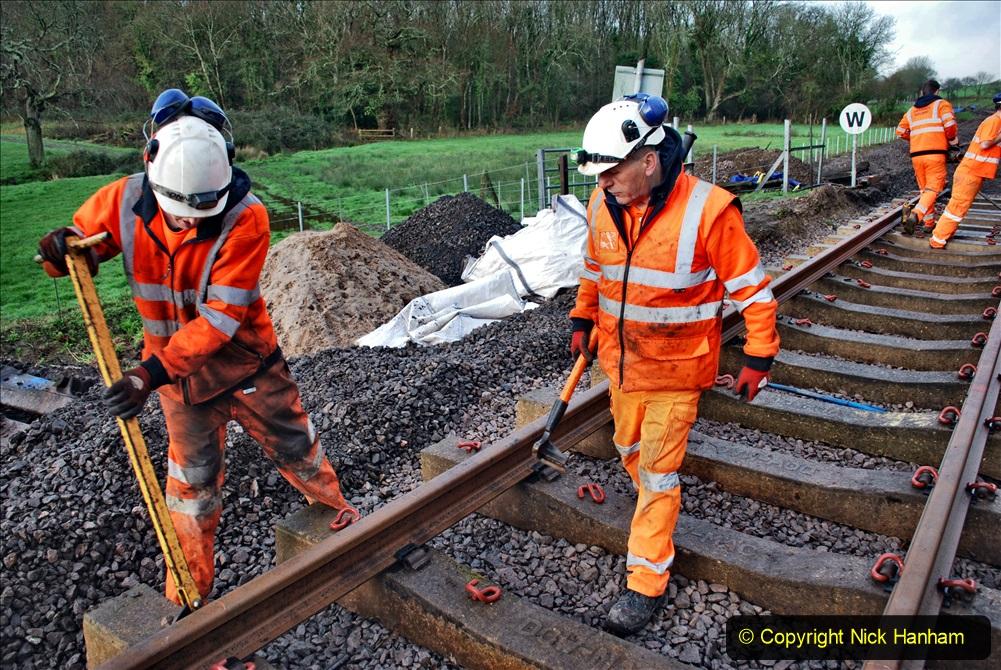 2020-01-08 Track renewal Cowpat Crossing to just beyond Dickers Crossing. (27) 027