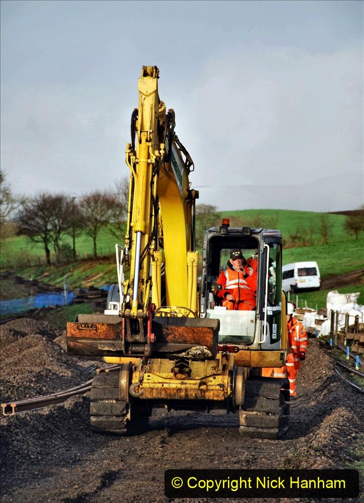 2020-01-08 Track renewal Cowpat Crossing to just beyond Dickers Crossing. (35) 035