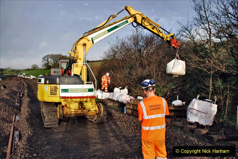 2020-01-08 Track renewal Cowpat Crossing to just beyond Dickers Crossing. (43) 043
