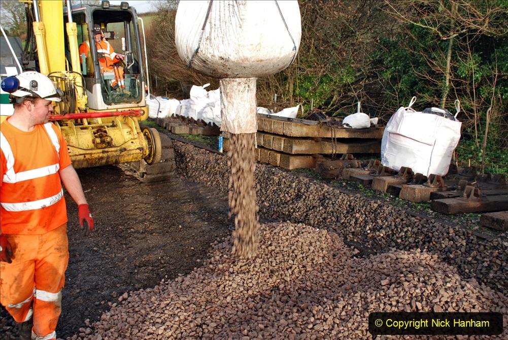2020-01-08 Track renewal Cowpat Crossing to just beyond Dickers Crossing. (45) 045