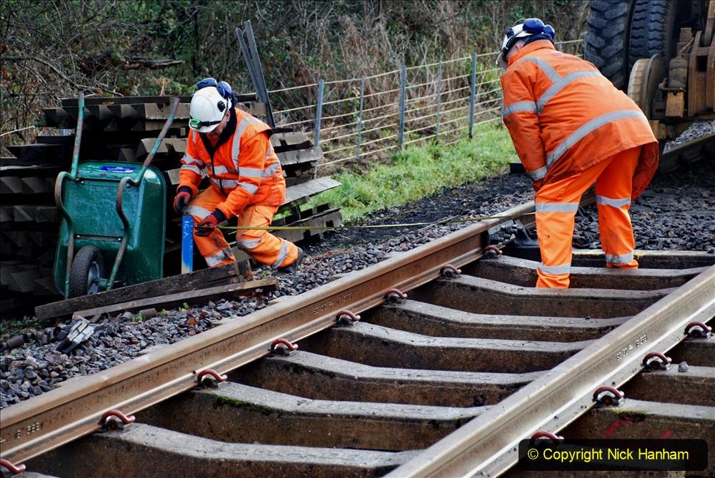 2020-01-08 Track renewal Cowpat Crossing to just beyond Dickers Crossing. (51) 051