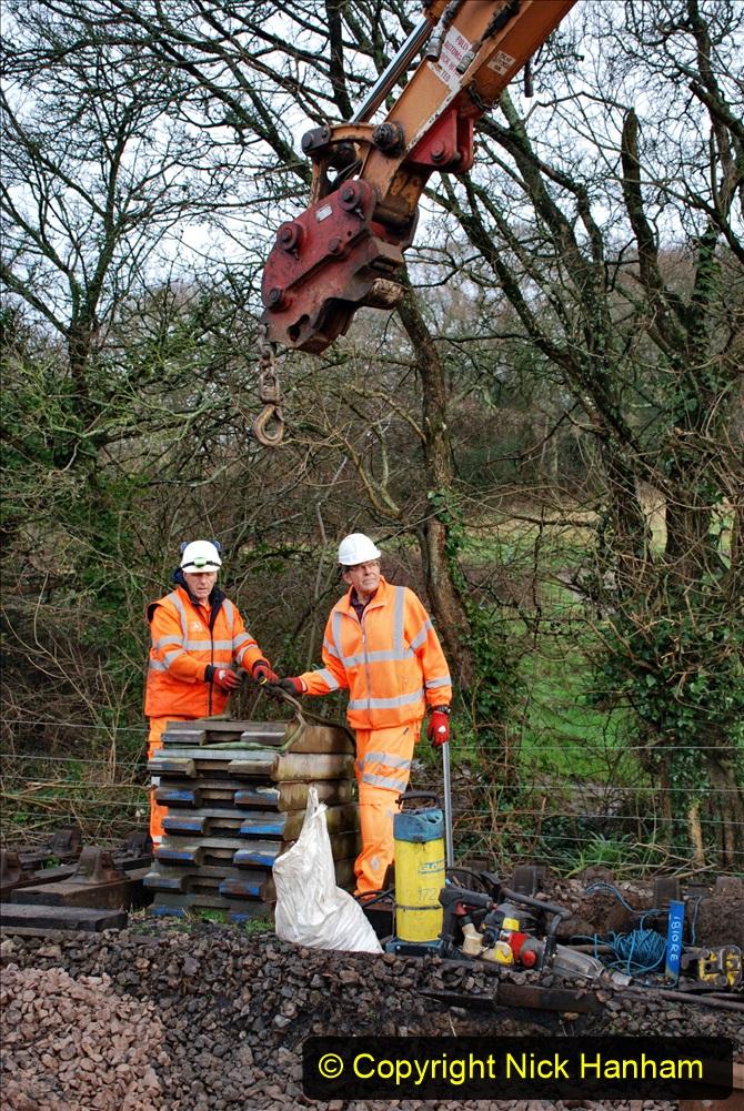 2020-01-08 Track renewal Cowpat Crossing to just beyond Dickers Crossing. (56) 056