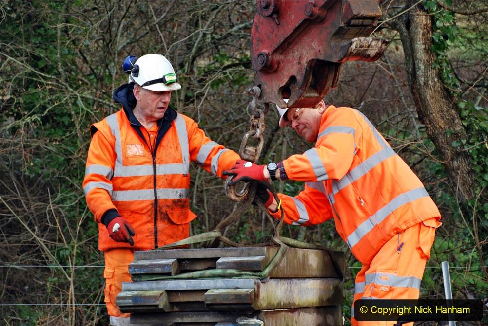 2020-01-08 Track renewal Cowpat Crossing to just beyond Dickers Crossing. (57) 057