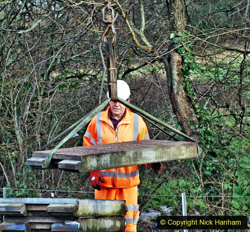 2020-01-08 Track renewal Cowpat Crossing to just beyond Dickers Crossing. (59) 059