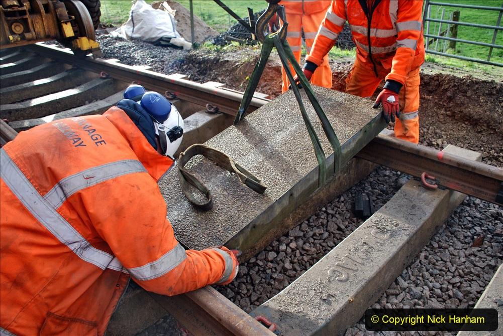 2020-01-08 Track renewal Cowpat Crossing to just beyond Dickers Crossing. (68) 068