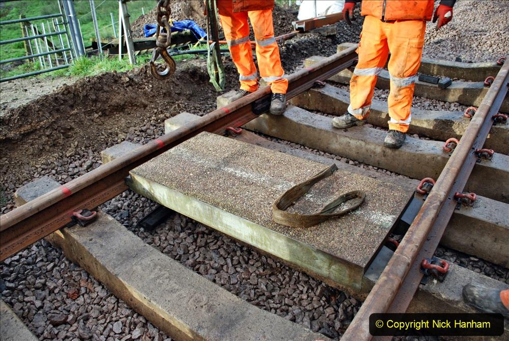 2020-01-08 Track renewal Cowpat Crossing to just beyond Dickers Crossing. (71) 071