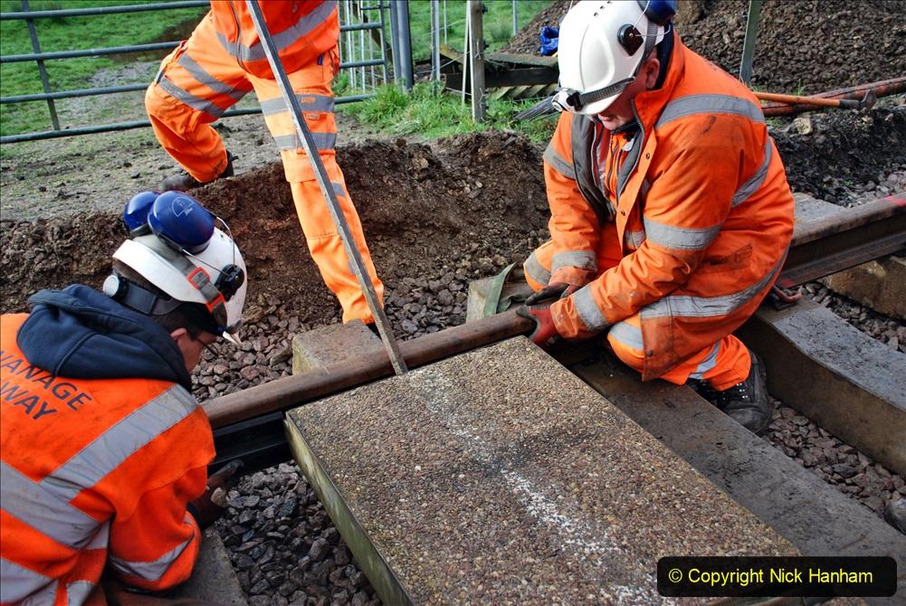 2020-01-08 Track renewal Cowpat Crossing to just beyond Dickers Crossing. (73) 073