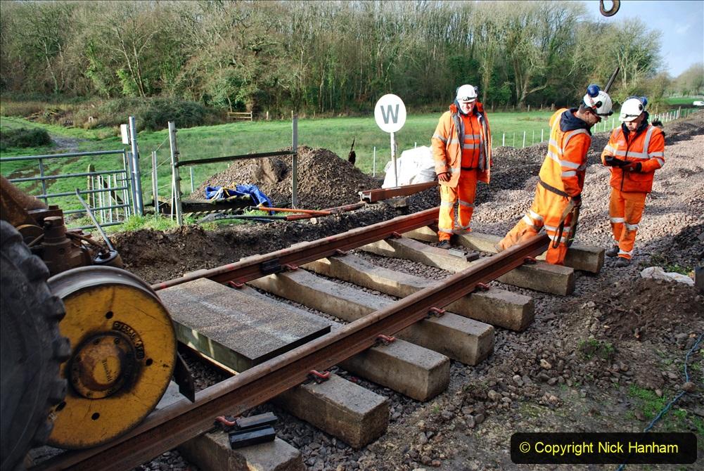 2020-01-08 Track renewal Cowpat Crossing to just beyond Dickers Crossing. (74) 074