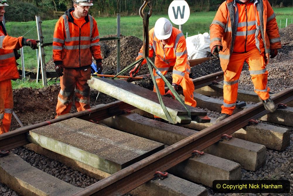 2020-01-08 Track renewal Cowpat Crossing to just beyond Dickers Crossing. (77) 077