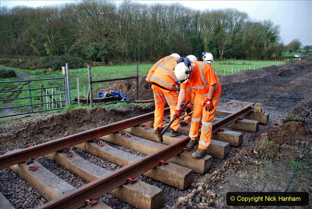 2020-01-08 Track renewal Cowpat Crossing to just beyond Dickers Crossing. (8) 008