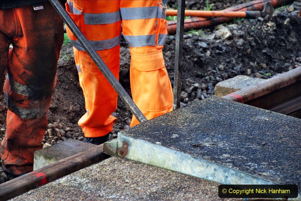 2020-01-08 Track renewal Cowpat Crossing to just beyond Dickers Crossing. (80) 080