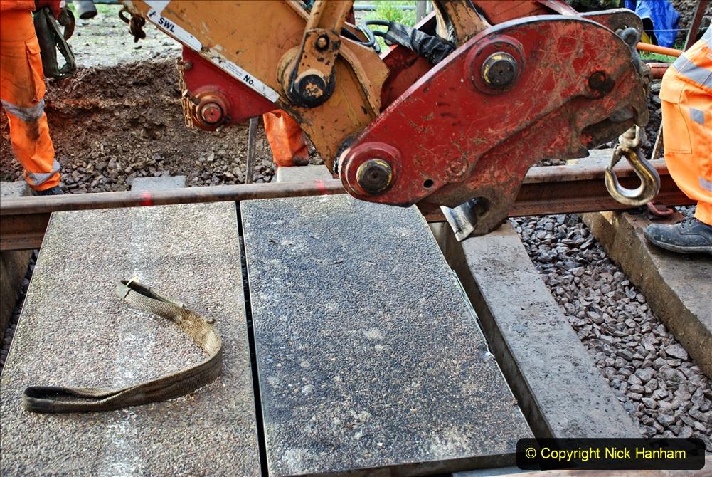 2020-01-08 Track renewal Cowpat Crossing to just beyond Dickers Crossing. (84) 084