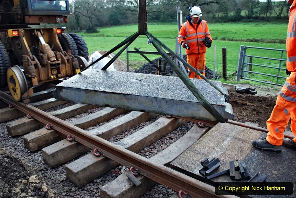 2020-01-08 Track renewal Cowpat Crossing to just beyond Dickers Crossing. (87) 087