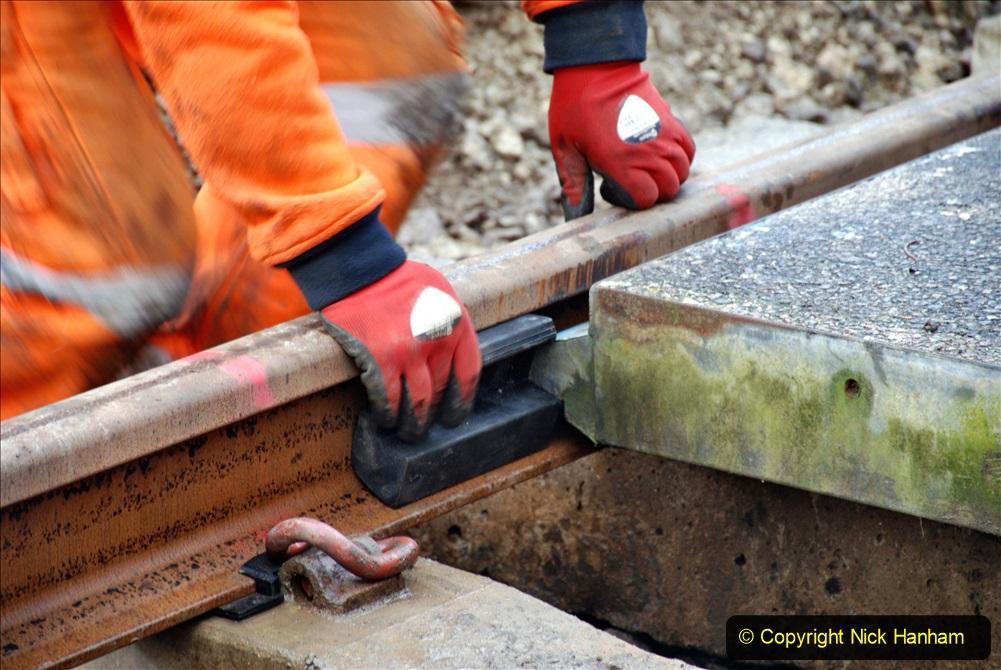 2020-01-08 Track renewal Cowpat Crossing to just beyond Dickers Crossing. (91) 091