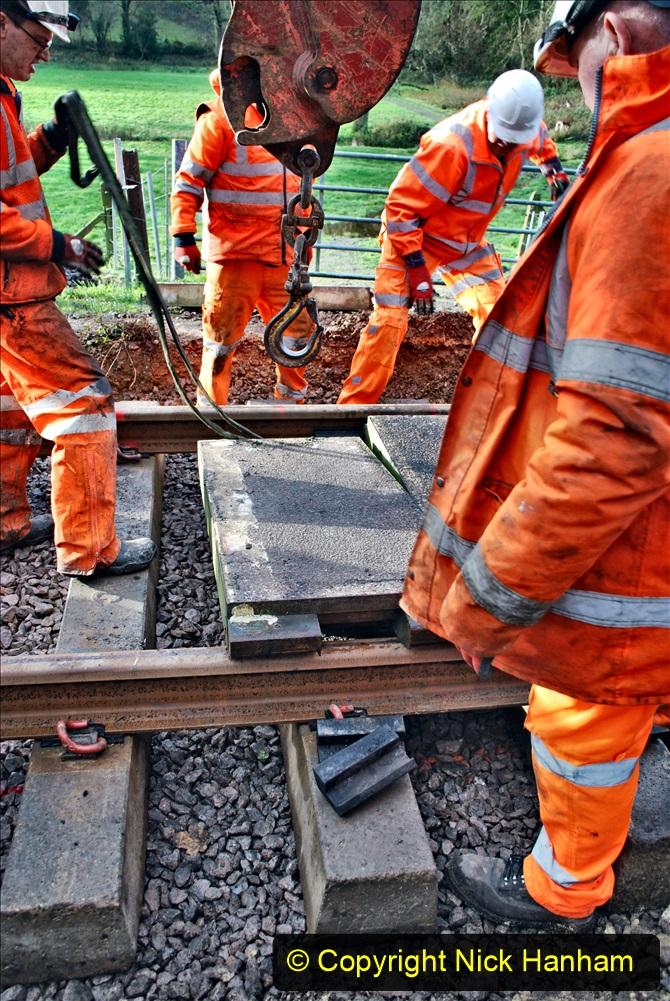 2020-01-08 Track renewal Cowpat Crossing to just beyond Dickers Crossing. (92) 092
