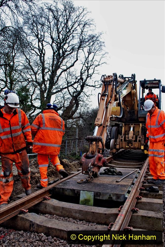 2020-01-08 Track renewal Cowpat Crossing to just beyond Dickers Crossing. (93) 093