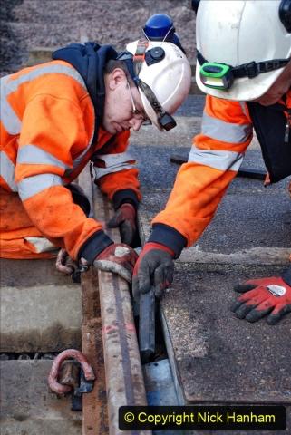 2020-01-08 Track renewal Cowpat Crossing to just beyond Dickers Crossing. (109) 109