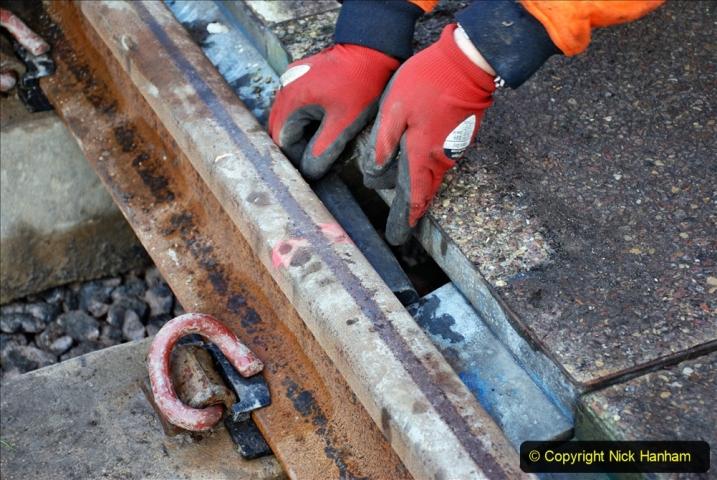 2020-01-08 Track renewal Cowpat Crossing to just beyond Dickers Crossing. (110) 110