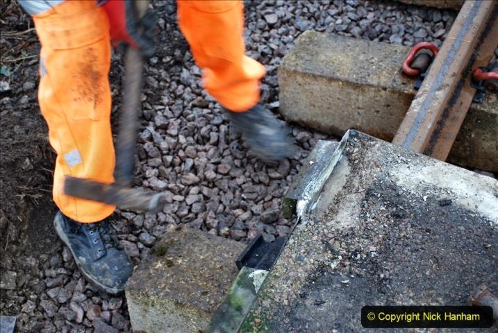 2020-01-08 Track renewal Cowpat Crossing to just beyond Dickers Crossing. (116) 116
