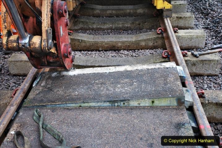 2020-01-08 Track renewal Cowpat Crossing to just beyond Dickers Crossing. (119) 119