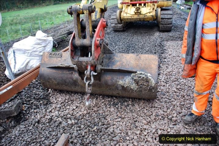 2020-01-08 Track renewal Cowpat Crossing to just beyond Dickers Crossing. (126) 126