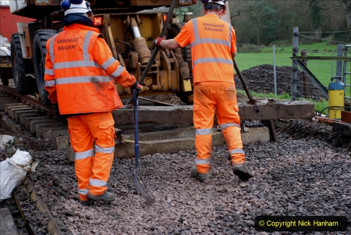 2020-01-08 Track renewal Cowpat Crossing to just beyond Dickers Crossing. (136) 136