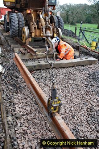 2020-01-08 Track renewal Cowpat Crossing to just beyond Dickers Crossing. (143) 143