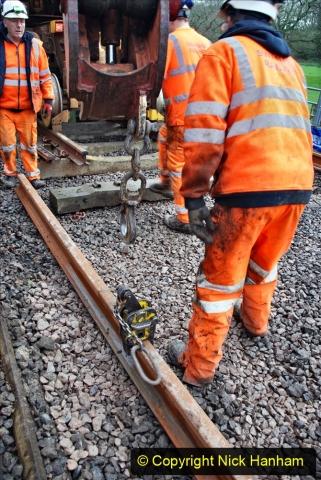 2020-01-08 Track renewal Cowpat Crossing to just beyond Dickers Crossing. (144) 144