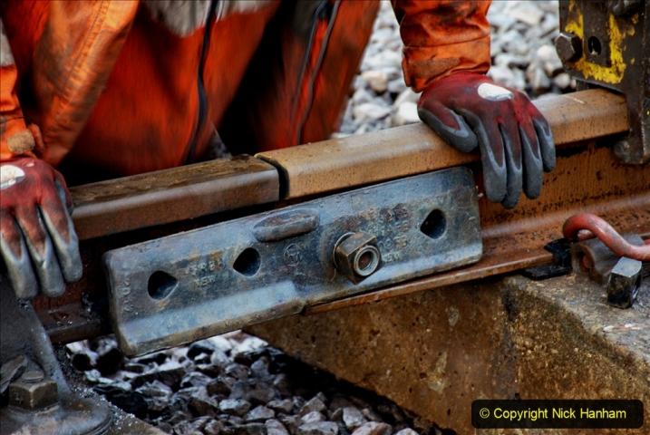 2020-01-08 Track renewal Cowpat Crossing to just beyond Dickers Crossing. (15) 015