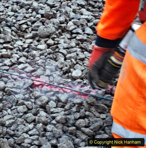 2020-01-08 Track renewal Cowpat Crossing to just beyond Dickers Crossing. (152) 152