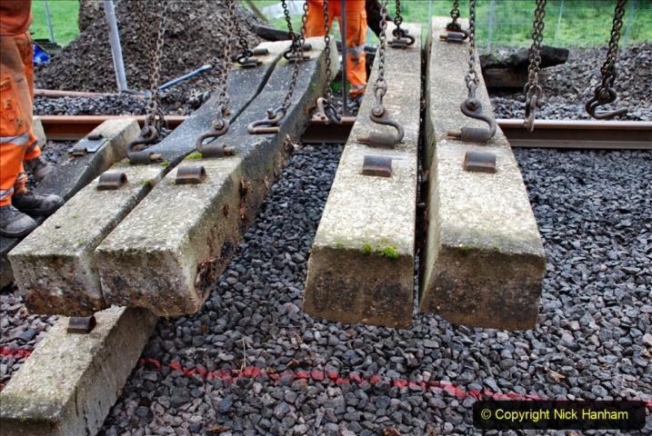 2020-01-08 Track renewal Cowpat Crossing to just beyond Dickers Crossing. (164) 164