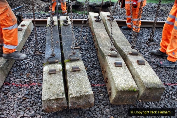 2020-01-08 Track renewal Cowpat Crossing to just beyond Dickers Crossing. (165) 165