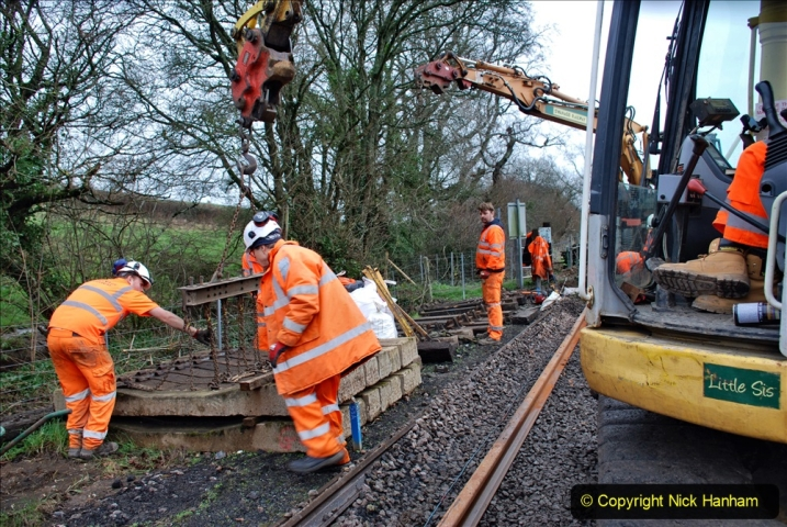 2020-01-08 Track renewal Cowpat Crossing to just beyond Dickers Crossing. (167) 167