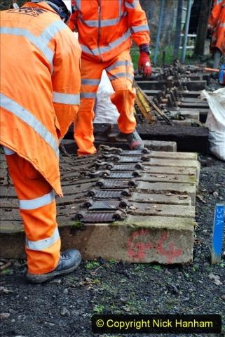2020-01-08 Track renewal Cowpat Crossing to just beyond Dickers Crossing. (169) 169