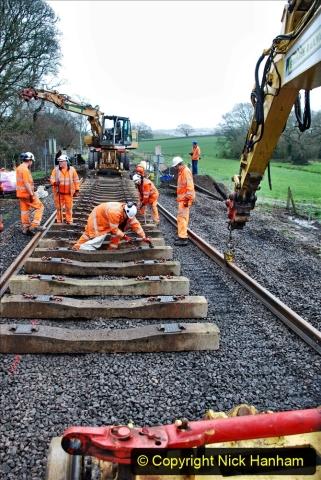 2020-01-08 Track renewal Cowpat Crossing to just beyond Dickers Crossing. (182) 182