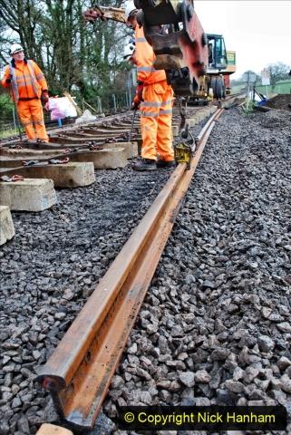 2020-01-08 Track renewal Cowpat Crossing to just beyond Dickers Crossing. (185) 185