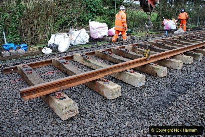 2020-01-08 Track renewal Cowpat Crossing to just beyond Dickers Crossing. (191) 191