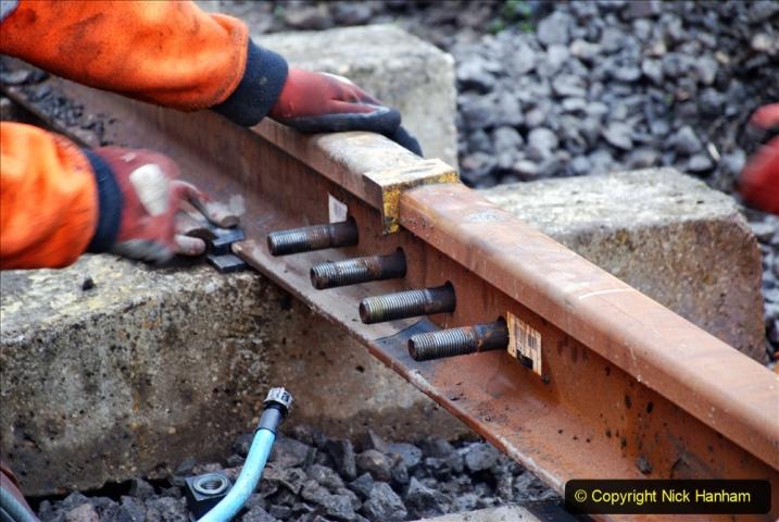 2020-01-08 Track renewal Cowpat Crossing to just beyond Dickers Crossing. (198) 198