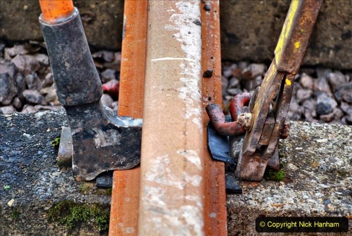 2020-01-08 Track renewal Cowpat Crossing to just beyond Dickers Crossing. (205) 205