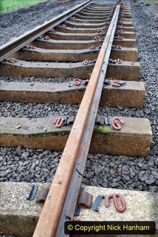 2020-01-08 Track renewal Cowpat Crossing to just beyond Dickers Crossing. (208) 208