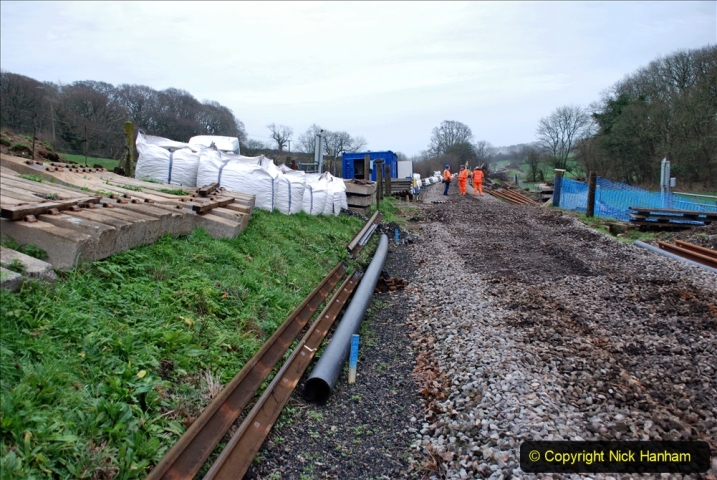 2020-01-08 Track renewal Cowpat Crossing to just beyond Dickers Crossing. (214) 214