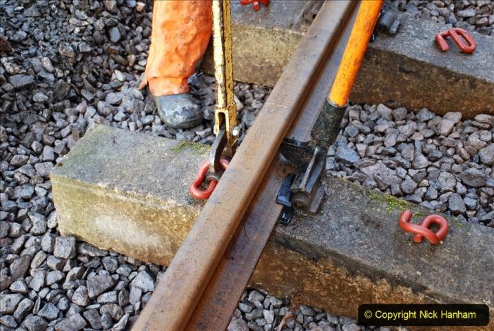 2020-01-08 Track renewal Cowpat Crossing to just beyond Dickers Crossing. (28) 028