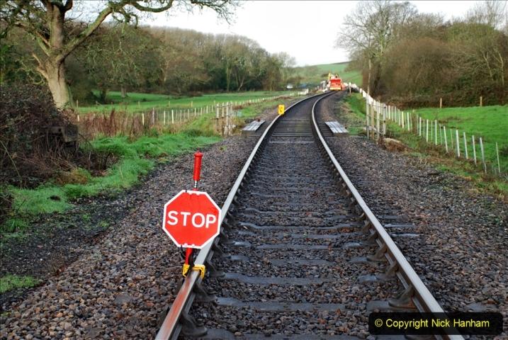 2020-01-08 Track renewal Cowpat Crossing to just beyond Dickers Crossing. (29) 029