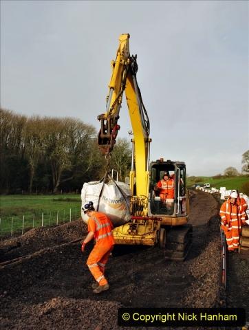 2020-01-08 Track renewal Cowpat Crossing to just beyond Dickers Crossing. (37) 037
