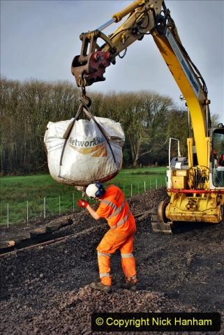 2020-01-08 Track renewal Cowpat Crossing to just beyond Dickers Crossing. (38) 038