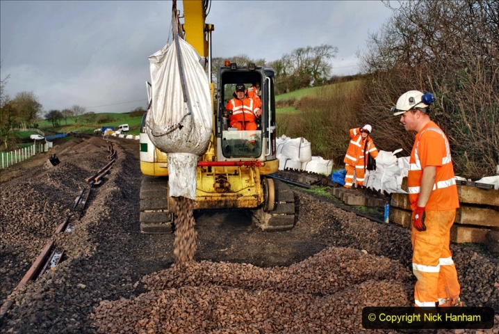 2020-01-08 Track renewal Cowpat Crossing to just beyond Dickers Crossing. (46) 046