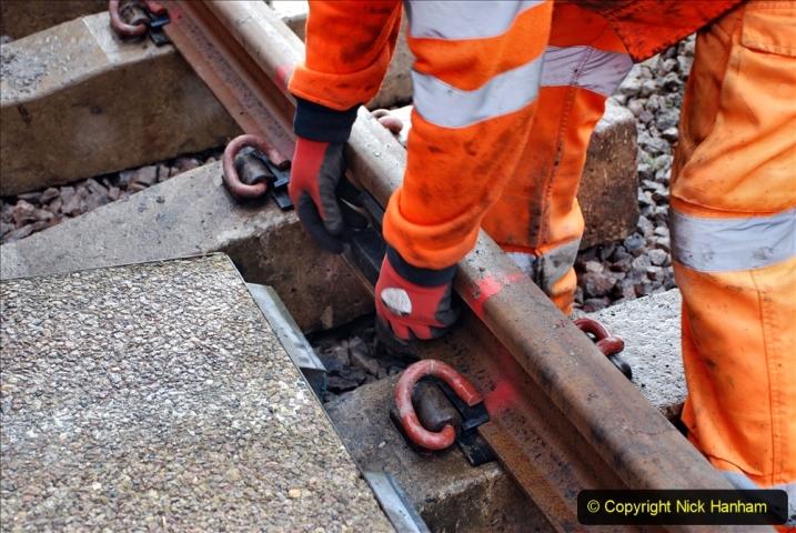 2020-01-08 Track renewal Cowpat Crossing to just beyond Dickers Crossing. (65) 065