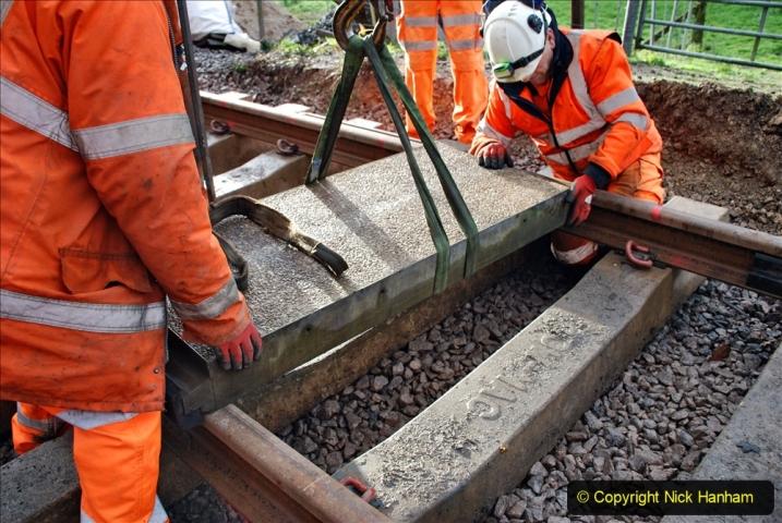 2020-01-08 Track renewal Cowpat Crossing to just beyond Dickers Crossing. (67) 067