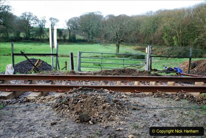 2020-01-08 Track renewal Cowpat Crossing to just beyond Dickers Crossing. (7) 007